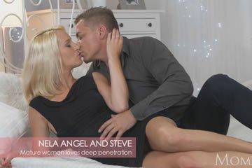 Nela Angel - romantikus baszás